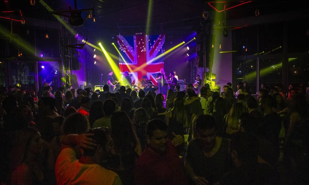The Rock Bar encerra temporada nesta sexta-feira Foto: Alexandre Cassiano / Agência O Globo
