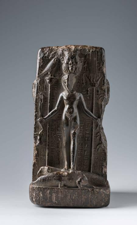 Fragmento de estátua mágica. Procedência desconhecida, Período Tardio (664-332 a.C.) Foto: Divulgação/Museo Egizio