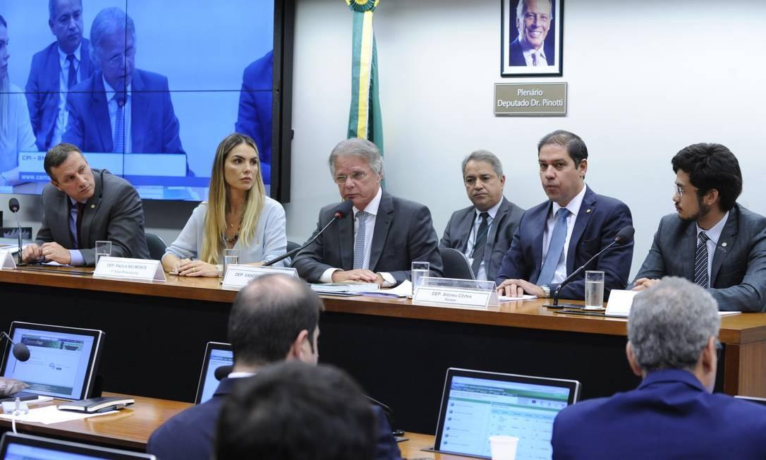 Reunião da CPI do BNDES Foto: GILMAR FELIX / Cleia Viana/Câmara dos Deputados