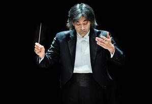 Kent Nagano rege a Orquestra Sinfônica de Montreal no Municipal Foto: Divulgação
