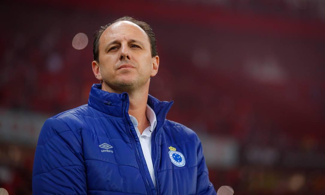 Rogério Ceni ficou oito jogos no Cruzeiro Foto: Vinnicius Silva/Cruzeiro