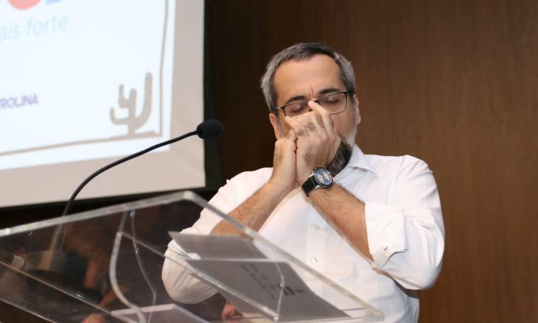 O ministro da Educação, Abraham Weintraub Foto: Divulgação