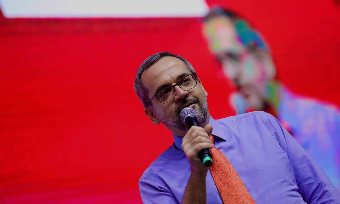 Abraham Weintraub tem criticado professores das universidades federais Foto: CJPress / Agência O Globo