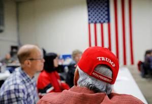 Integrantes do Partido Republicano em treinamento político no estado do Wisconsin. Apoio a um processo de impeachment contra Trump cresceu até mesmo entre os correligionários do presidente Foto: BRIAN SNYDER / REUTERS
