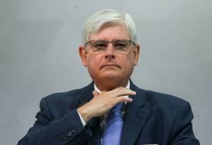 O ex-procurador-geral Rodrigo Janot Foto: Marcelo Camargo / Agência O Globo
