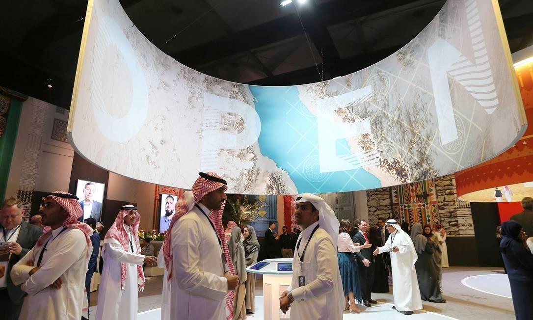 A cidade histórica de Al-Diriyah foi palco para o evento de lançamento do novo plano de promoção turística da Arábia Saudita, na última sexta, 27 de setembro Foto: STRINGER / REUTERS