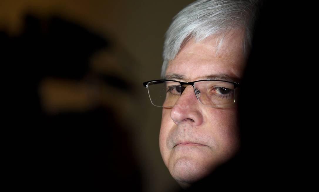 O ex-procurador-geral da República Rodrigo Janot, em agosto de 2017 Foto: Evaristo Sá / AFP