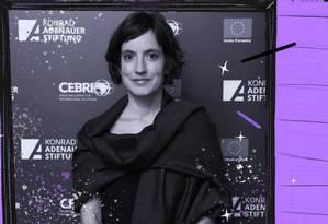 Joana Chgas, da ONU Mulheres: refugiadas ficam em situação mais vulnerável à violência e à exploração sexual Foto: Arte sobre foto de divulgação