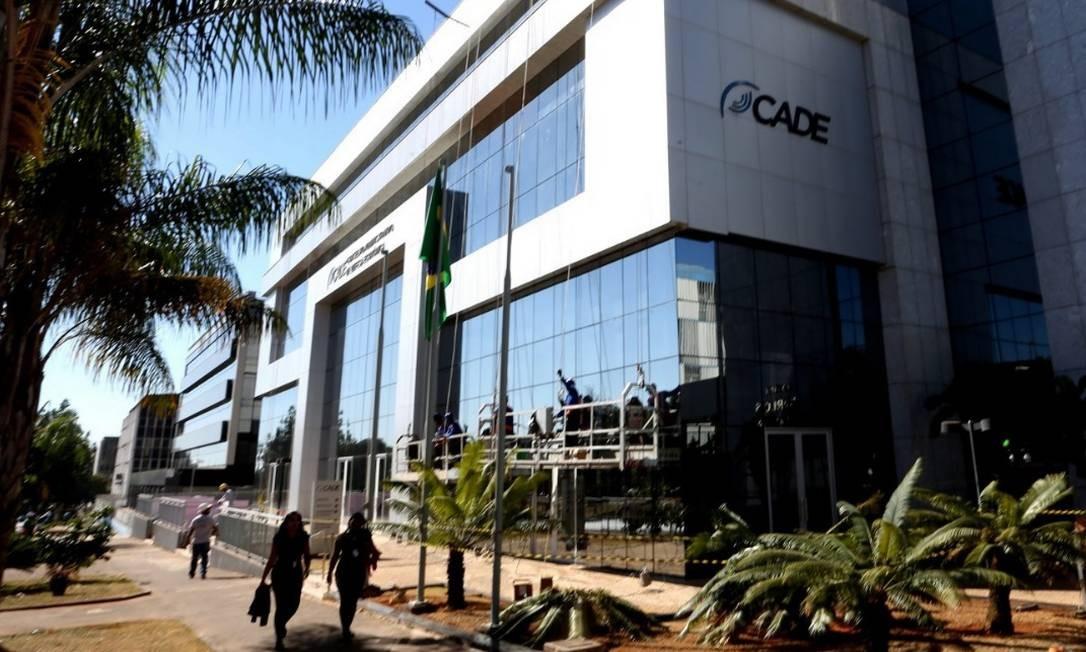 Fachada do prédio do Cade em Brasilia. Foto: Aílton de Freitas/Agência O Globo