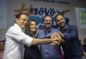 PSDB lança Mariana Ribas à prefeitura do Rio em evento com presença de Eduardo Paes Foto: Ana Branco / Agência O Globo