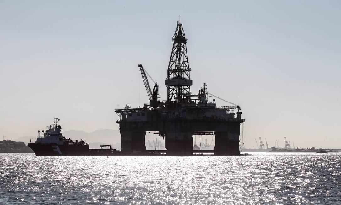 Plataforma de petróleo Foto: Brenno Carvalho / Brenno Carvalho/5-9-2017