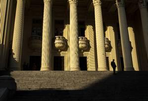 O Palácio Tiradentes, sede da Assembleia Legislativa do Rio de Janeiro, no centro da cidade Foto: Hermes de Paula / Agência O Globo