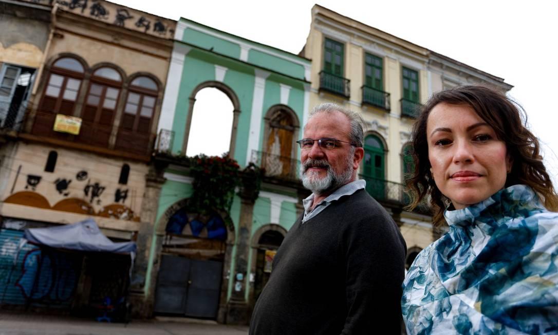 RI Rio de Janeiro (RJ) 27/09/2019 Workshop de arquitetura. Na foto Pedro da Luz e Débora Barros Foto Roberto Moreyra / Agencia O Globo Foto: ROBERTO MOREYRA / Agência O Globo