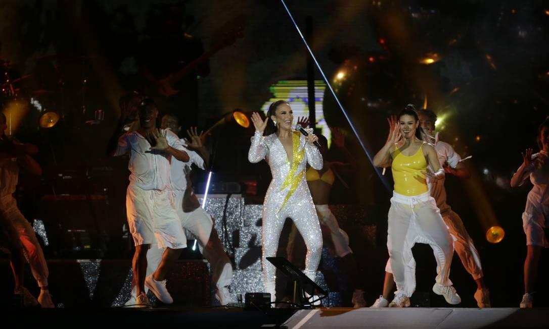 Houve até Tim Maia no carnaval fora de época de Ivete Foto: Antonio Scorza / Agência O Globo
