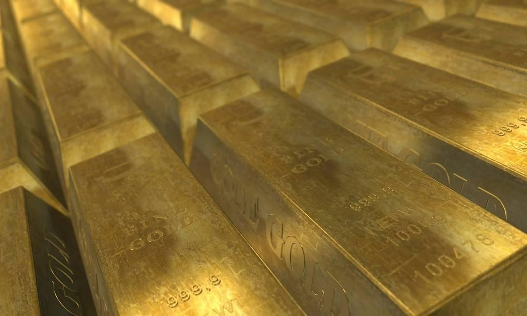 No ano, ouro acumula alta de 27%. Fundos permitem investimento a partir de R$ 1 mil Foto: Pixabay