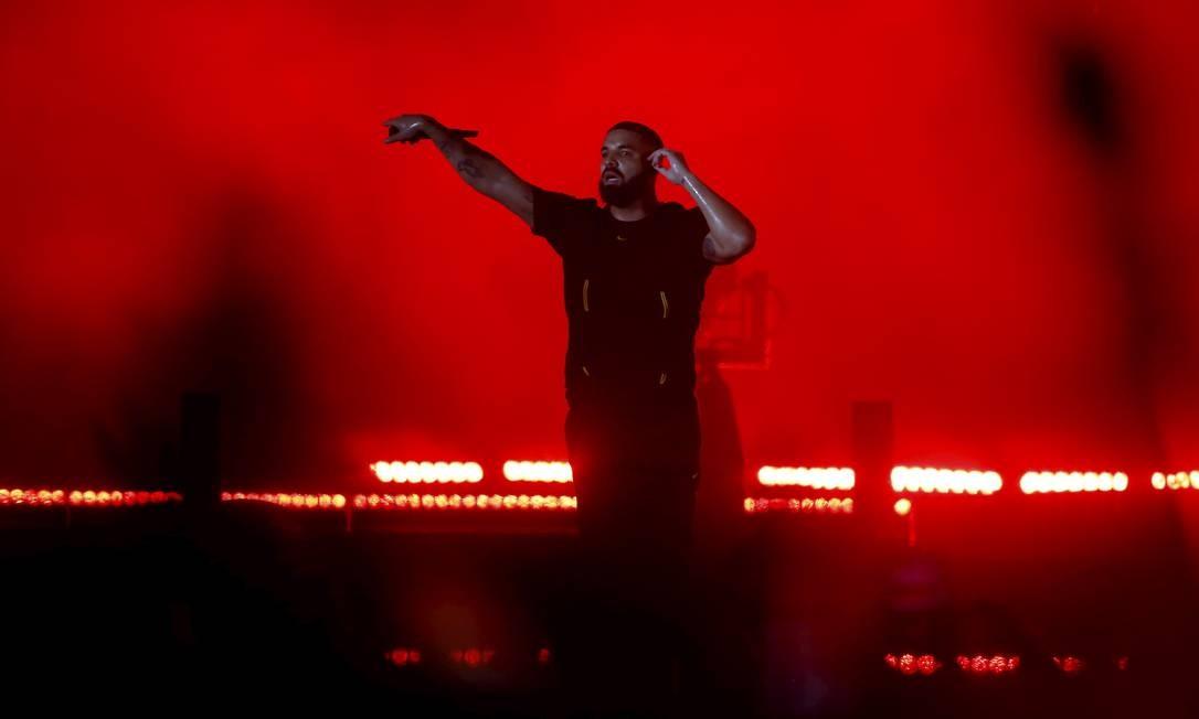 Rapper causou polêmicas desde o momento em que chegou ao Brasil para sua participação no festival. A principal delas foi proibir a transmissão de seu show na televisão Foto: Foto de leitor /