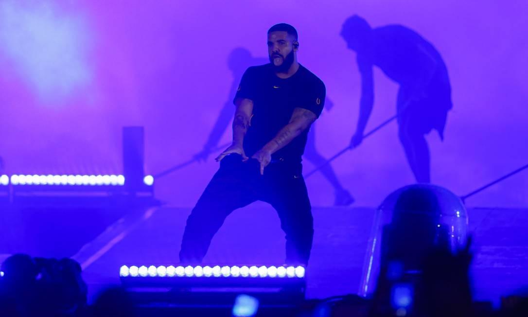 Show de Drake na primeira noite do Rock in Rio Foto: Foto de leitor /