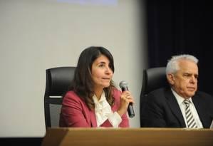 Andrea Almeida é diretora executiva de Finanças e Relacionamento com Investidores da Petrobras Foto: Divulgação