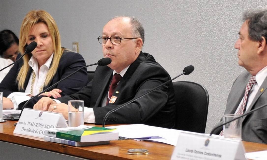 Subprocurador-geral da República Moacir Guimarães Filho Foto: Geraldo Magela/Agência Senado