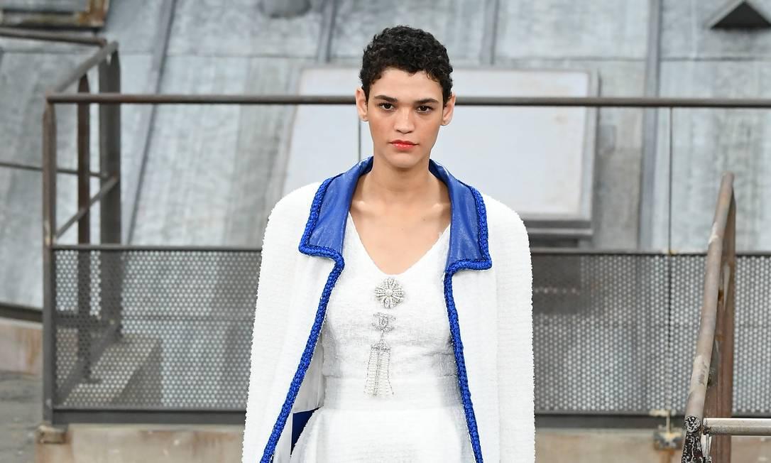 Kerolyn Soares para a Chanel Foto: Rindoff/Charriau / Getty Images