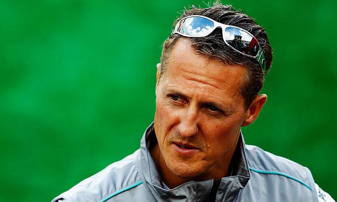 Michael Schumacher: acidente de esqui em Méribel, na França, causou sérias lesões cerebrais Foto: Vladimir Rys / Getty Images