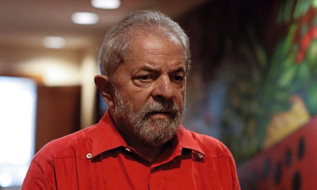 O ex-presidente Luiz Inácio Lula da Silva Foto: Arquivo O GLOBO