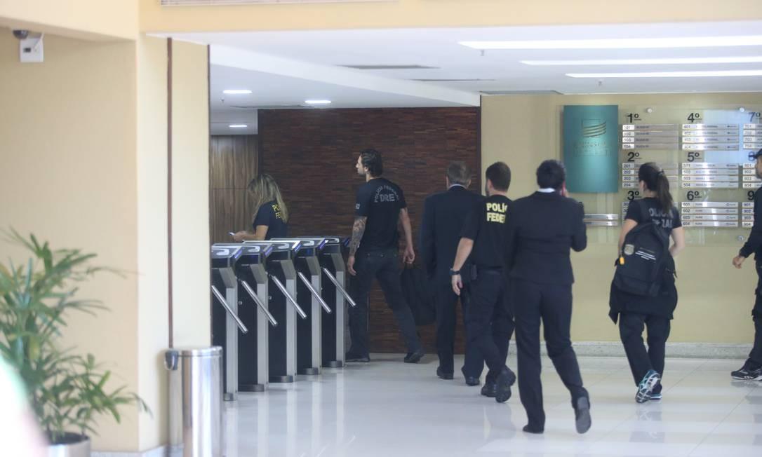A investigação contou com a colaboração da Receita Federal e do Ministério Público Federal a partir de denúncia de investigado da Lava-Jato Foto: Fabiano Rocha / Agência O Globo