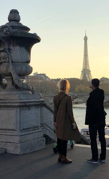 Mas um visual da Ponte Alexandre III Foto: Carla Lencastre