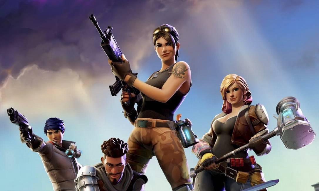 Videogame Fortnite. Foto: Agência O Globo
