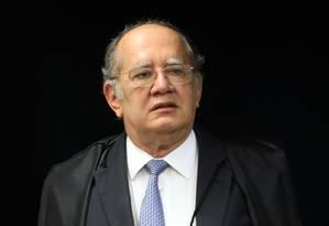 O ministro do Supremo Tribunal Federal (STF) Gilmar Mendes Foto: Nelson Jr. / STF