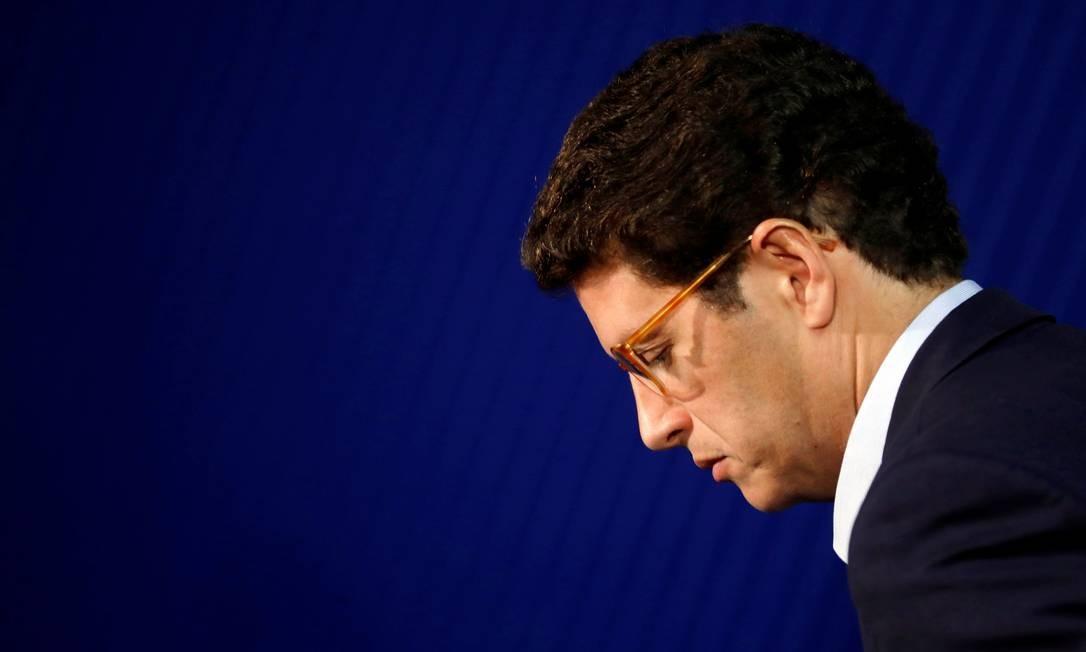 O ministro Ricardo Salles prometeu acabar com 'sensacionalismo de informações que não são corretas sobre a situação ambiental brasileira'. Foto: Adriano Machado / Reuters/24-8-2019