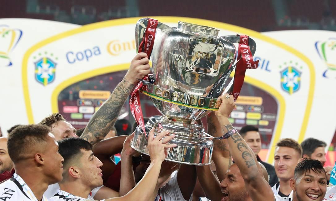 Athletico-PR é o atual campeão Foto: DIEGO VARA / REUTERS
