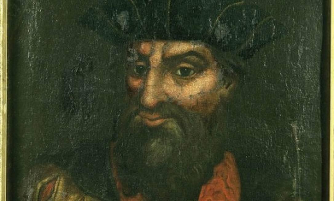 """Obra da mostra """"Lusa, a matriz portuguesa"""", no CCBB - Retrato de Vasco da Gama, do século XVI Foto: Divulgação"""
