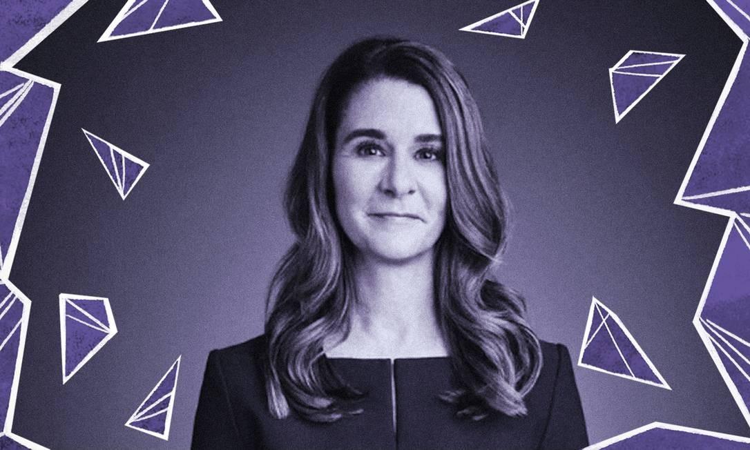 Melinda Gates Foto: Divulgação