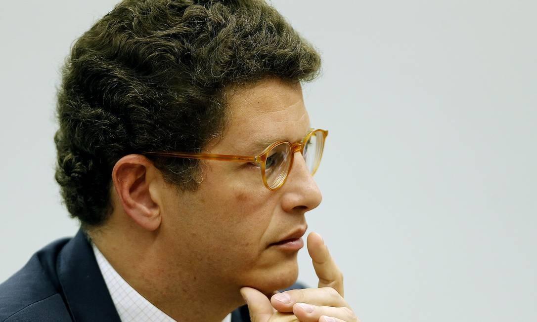 Ricardo Salles, ministro do Meio Ambiente Foto: Jorge William / Agência O Globo