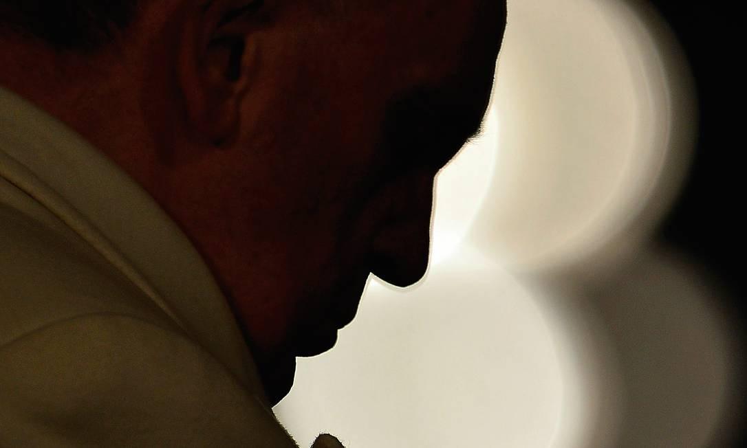 O papa Francisco convocou o Sínodo da Amazônia Foto: GABRIEL BOUYS / Agência O Globo
