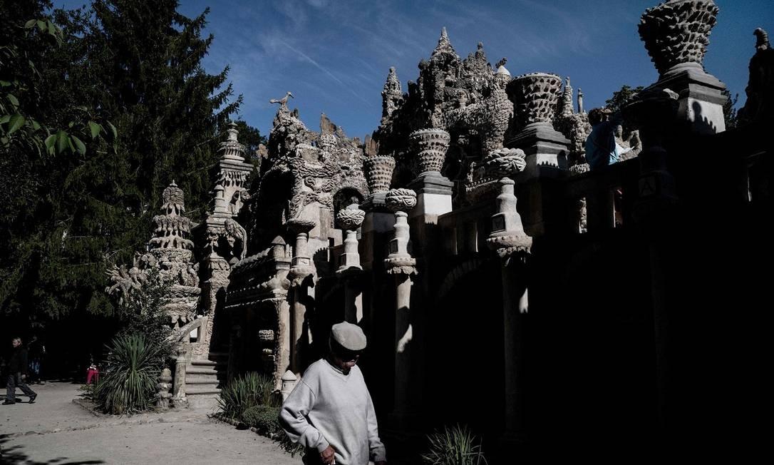 Há 50 anos, a construção foi tombada como Monumento Histórico pelo Ministério da Cultura da França Foto: JEFF PACHOUD / AFP
