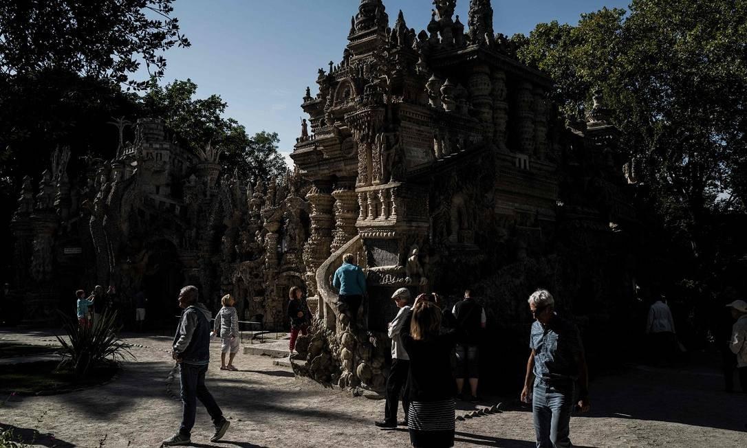 Há visitas guiadas, pelo menos uma vez por dia, entre março e setembro Foto: JEFF PACHOUD / AFP