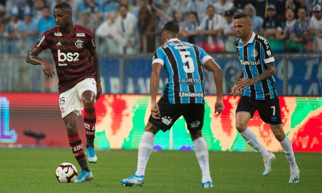 Gerson Foto: Alexandre Vidal/Flamengo