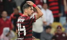 Arrascaeta volta nesta quarta-feira ao Flamengo Foto: SERGIO MORAES / Reuters