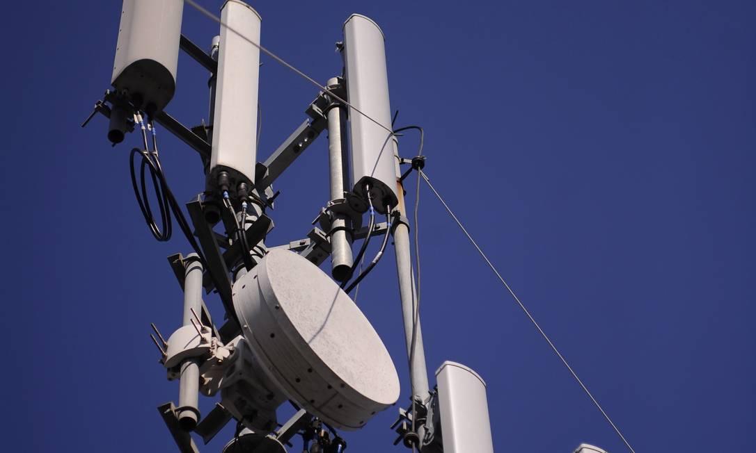 Equipamento de radiobase para rede 4G de telefonia Foto: Divulgação/Oi