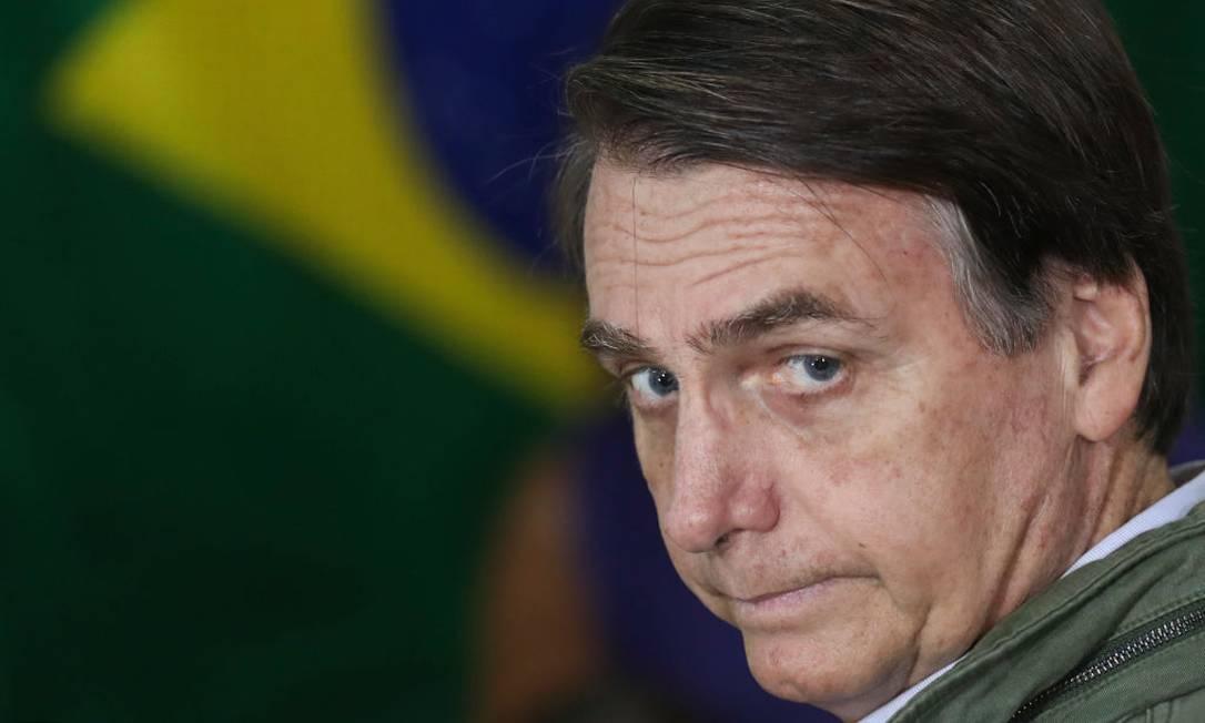 O presidente Jair Bolsonaro Foto: Pool / Getty Images