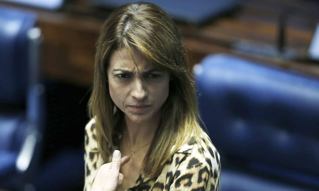 Soraya Thronicke, senadora do PSL (07/02/2019) Foto: Jorge William / Agência O Globo
