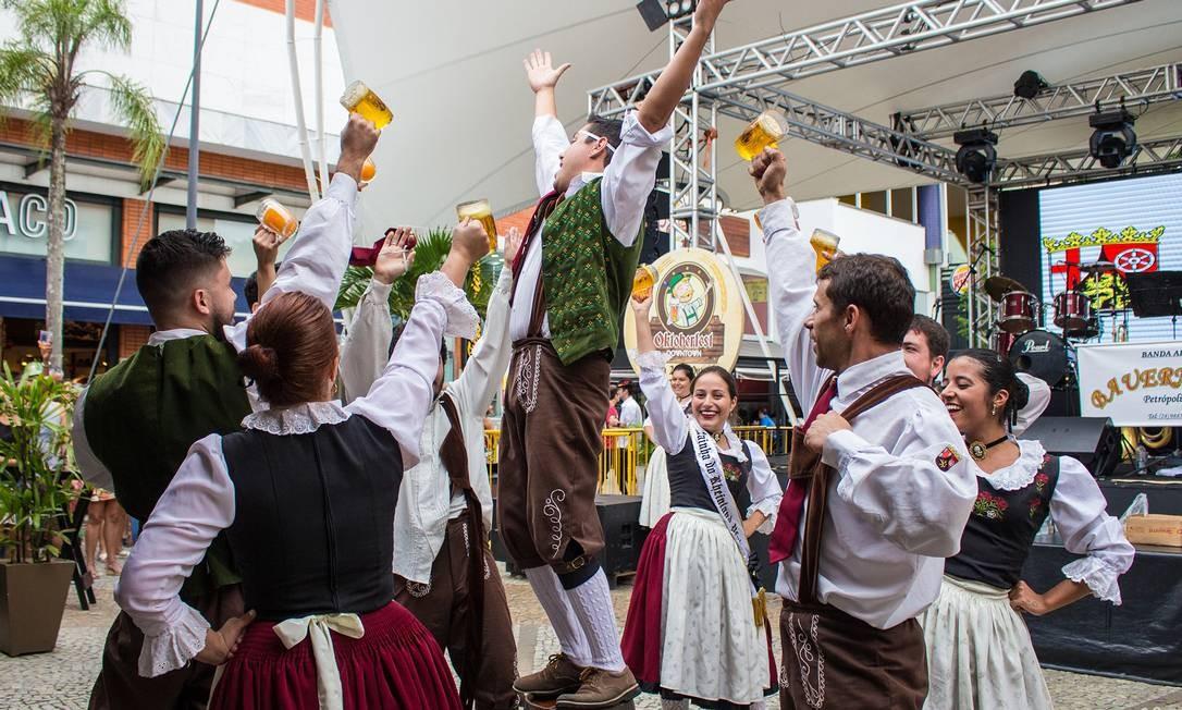 No Downtown, programação reproduz tradicional celebração alemã Foto: Divulgação