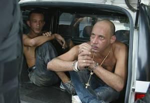 Sassá foi preso em novembro de 2005 Foto: Gustavo Azeredo / Agência O Globo