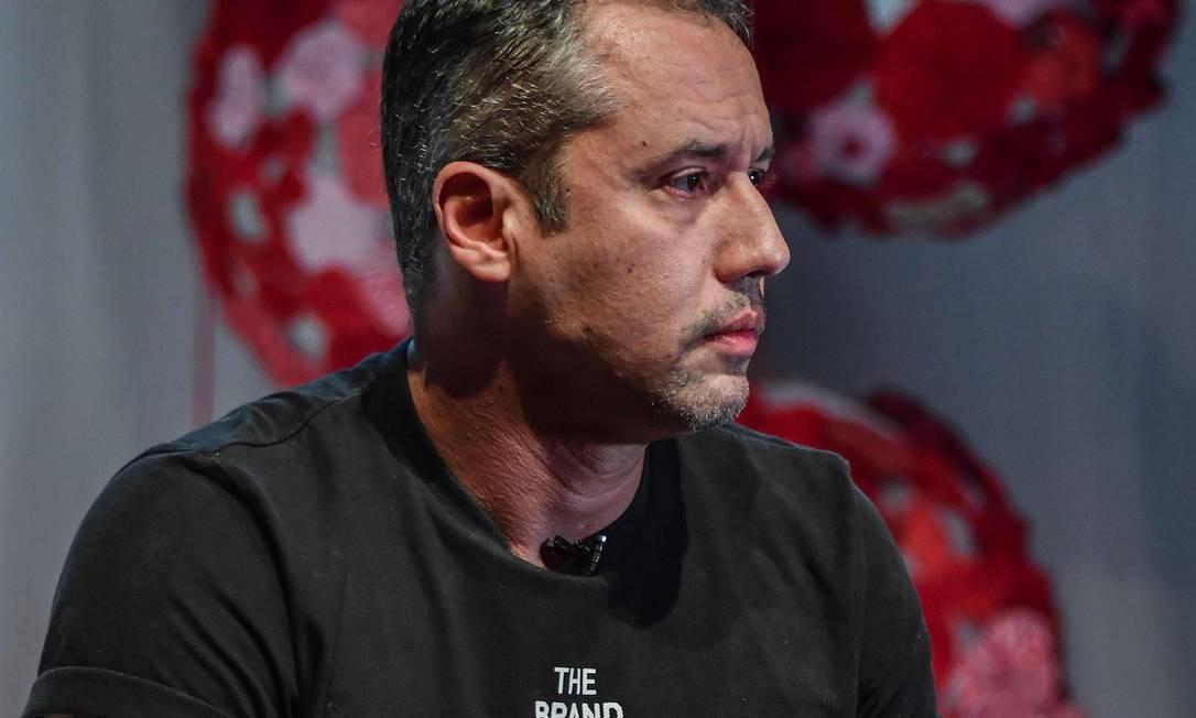 Roberto Alvim, diretor do Centro de Artes Cênicas, da Funarte Foto: NELSON ALMEIDA / AFP