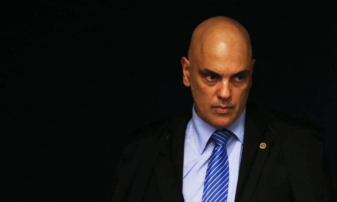 Ministro Alexandre de Moraes Foto: Ailton de Freitas / Agência O Globo