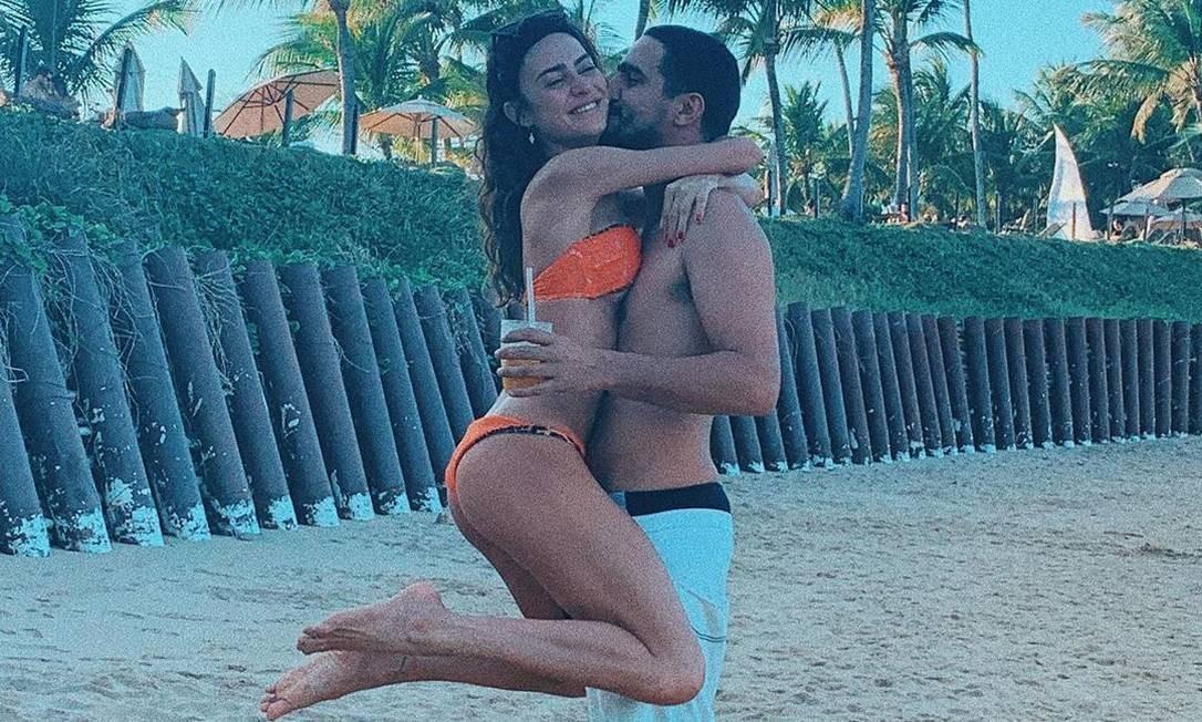 Thaila e Renato: casamento neste sábado Foto: Reprodução do Instagram