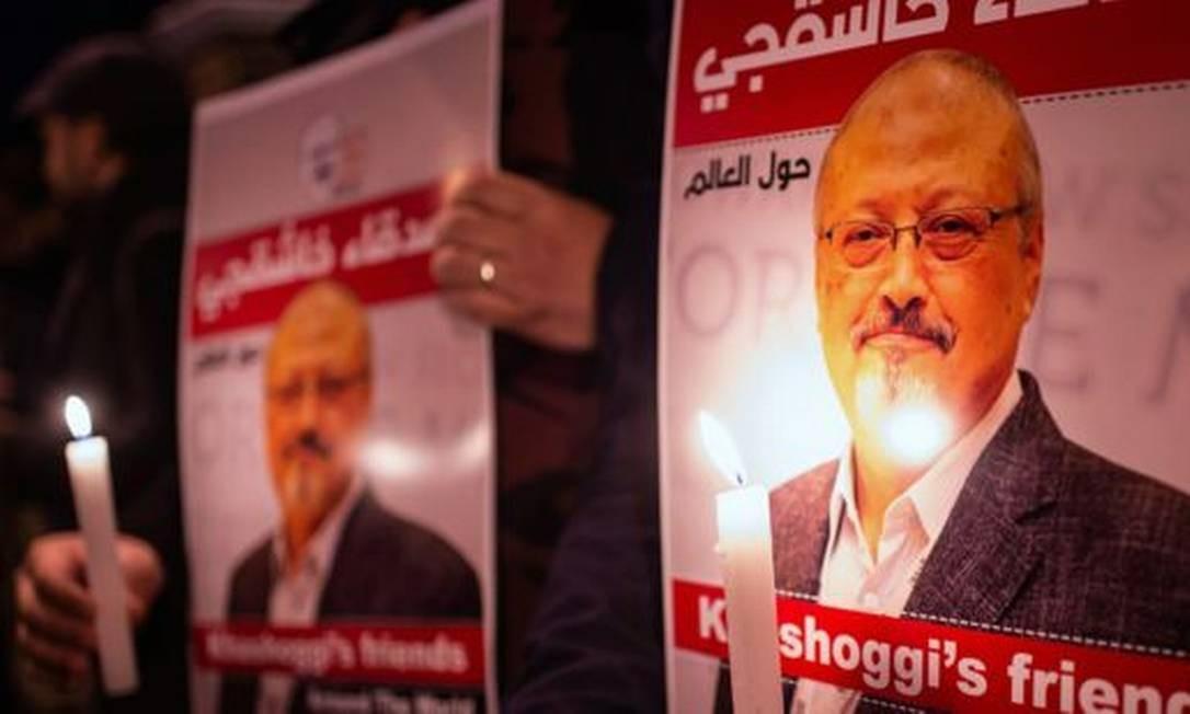 O jornalista Jamal Khashoggi foi assassinado no ano passado, após entrar no consulado saudita em Istambul Foto: Getty Images
