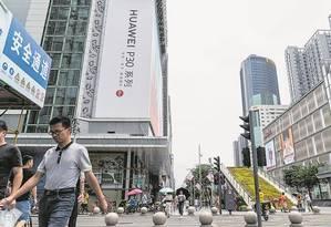 Shenzhen, o novo coração 'tech' do mundo conectado Foto: STR / AFP